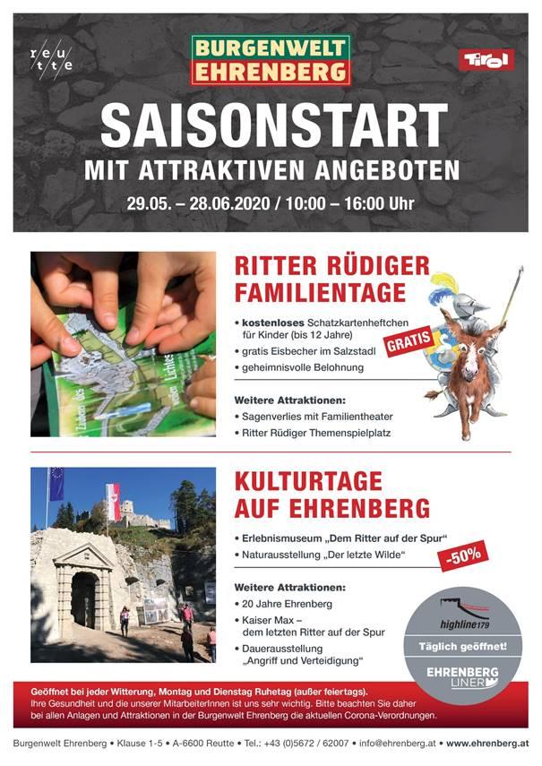 Saisonstart Ehrenberg